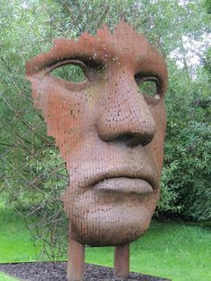The Sculpture Garden At Burghley House