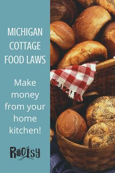 Have you ever seen someone selling cookies or jams and jellies at a local farmer's market? There's a good chance they're operating under Cottage Food Laws. Cottage Food Laws were developed for people to sell shelf stable and low risk food products from their home. No commercial kitchen or regulatory inspection needed. Shelf stable products are things such as breads and other baked goods, pickles, jams, sauerkraut, jarred sauces, and more. Cottage Food Laws vary greatly from state to state. Selling Eggs, Self Sufficient Homestead, Sandwich Bread Recipes, Local Honey, Jam And Jelly, Meat Chickens, Home Food, Commercial Kitchen, Sauerkraut