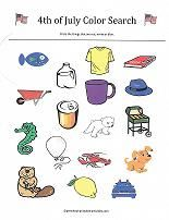 Worksheets for kids that are just right for the of July. Learn about the holiday while counting, learning colors, matching, subtraction, small to big and more. School Readiness, Learning Colors, Preschool Worksheets, Independence Day, Fourth Of July, Printables, Activities, How To Plan, Sorting