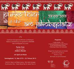 Purim-Feier Indien-Abend am Jakobsplatz, 23 Februar 2013