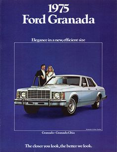Ford Granada Gl Door Sedan Granada Sedans And Ford