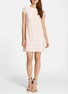 A simple pretty lace dress
