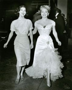 Lana Turner and Ava Gardner
