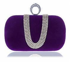 New Trending Make Up Bags: Afibi Women Red Crystal Finger Evening Party Handbags Shoulder Bag Clutch (Purple). Afibi Women Red Crystal Finger Evening Party Handbags Shoulder Bag Clutch (Purple)   Special Offer: $17.98      388 Reviews Suede Rhinestone Studded ClutchOne Ring Knuckle Duster StyleChain String AttachedPurse Measurement is approximately:7″ length x 4″ height x 2″...