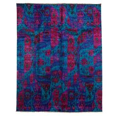 I pinned this Silk Sankari 8' x 10' Rug from the Parvizian Rugs event at Joss and Main!  Amazing colors!