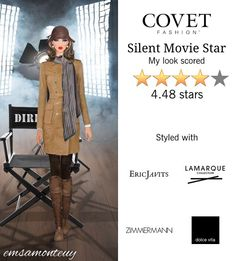Silent Movie Star @covetfashion #covet #covetfashion #covetfashionapp #fashion #covetfall2015 #fall2015 #womensfashion #moviestar #silentmoviestar #DolceVita #RebeccaMinkoff #LaMarque #APeaceTreaty #JulieVos #EricJavits