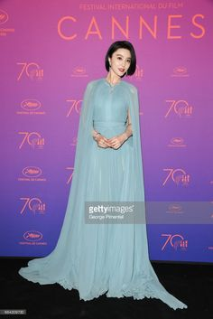Jury member Fan Bingbing attends the Opening Gala dinner during the 70th annual Cannes Film Festival at Palais des Festivals on May 17, 2017 in Cannes, France.
