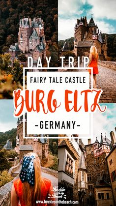 Burg Eltz is a fairytale castle in Germany. This medieval castle makes the perfect day-trip in Germany. Learn all about a day-trip to Burg Eltz here. Europe Travel Guide, Europe Destinations, Europe Packing, Backpacking Europe, Travel Guides, Burg Eltz Castle, Travel Photographie, Romania Travel, Germany Castles