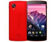 Red Google Nexus 5 on sale now Google's Nexus 5 gets a splash of colour thanks to a new cherry red paint job. The handset is available now through the Play Store.