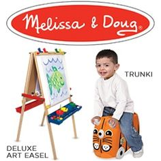 Melissa and Doug - A Child's Dream Art Easel, Having A Baby Boy, Melissa & Doug, Holiday Wishes, Cool Stuff, Children, Gifts, Unique, Shop