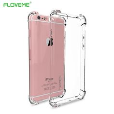 Case For iPhone 6, 6s, 6 Plus, 7, 7 Plus Clear Full Protection of 360 Degree Drop Resistant Anti-knock //Price: $3.99 & FREE Shipping // #lovetoshop