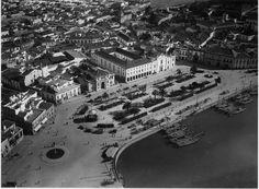 Aerial view, Faro 70's