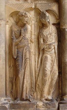 Moissac 1120 Les Pi Droits Et Le Trumeau St Pierre