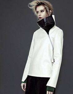 ejakulation:  Julia Frauche by Emma Tempest for L'Officiel Paris, Octorber 2012