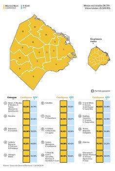 Mapa porteño en La Nación