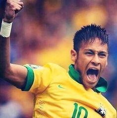 Neymar Golasso Bald Men, Its A Mans World, World Cup 2014, 21 Years Old, Neymar Jr, Soccer Players, Hot Guys, Football, Athletes