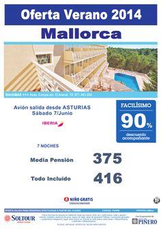 Mallorca: 90% Hotel Bahamas salidas desde Asturias ultimo minuto - http://zocotours.com/mallorca-90-hotel-bahamas-salidas-desde-asturias-ultimo-minuto/