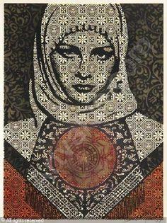 Fairey Shepard, 1970 USA untitled arab woman