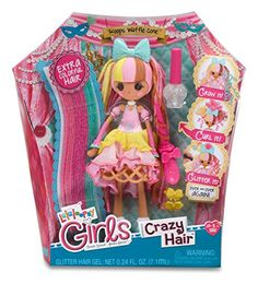 Lalaloopsy Girls Crazy Hair Doll- Scoops Waffle Cone
