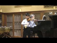 Vivaldi Concerto in D Major—See more of young violinist #sonA_from_Yutaro80