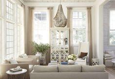 linen, home decor, mirror, stylish, classic, elegant, interior styling    Tracery Interiors. Peter Block Architects. Photography Laura Resen. Veranda Magazine July/August 2012