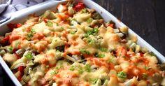 Każdy zna sałatkę gyros , lecz my postanowiliśmy przygotować zapiekankę gyros! Skład prawie w ogóle się nie różni, tylko zamiast kapusty... Tortellini, Risotto, Potato Salad, Macaroni And Cheese, Casserole, Potatoes, Chicken, Baking, Ethnic Recipes