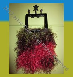 Funky Handmade Handbags  Small  Colorful Berry by ArtisticFunk, $25.00 USE COUPON CODE PINTEREST10 For 10% Off