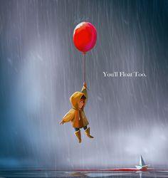 JUN CHIU Illustration — You'll Float Too ~