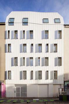 JTB architecture – 10 logements en structure bois – Saint-Denis