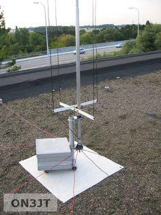 Homebrew Multiband Vertical HF Antenna   Hams   Ham radio antenna