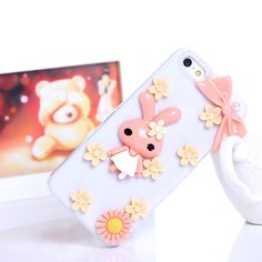 I'm auctioning 'SUPER CUTE BUNNY iPHONE 5C  3D PHONE CASE ' on #tophatter CHEAP PHONE CASE JUST FOR YOU