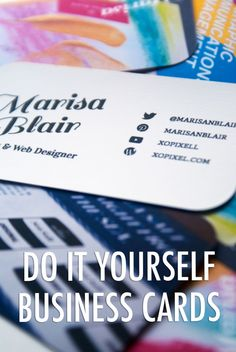 Download a free printable business card fill in your details on the diy business cards reheart Image collections