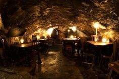 Gordon's Wine Bar. It's one of the oldest wine bars in London and it has the interior to prove it. You'll find yourself sitting in rustic old cellars with rickety old tables and chairs, with the warm glow of candles burning from old wine bottles. It's a great place to go for an evening anyday of the week.