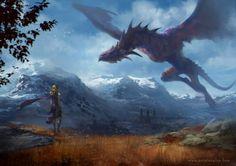 Mother of Dragons by Lius Lasahido.