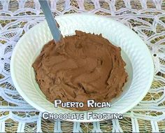 Puerto Rican Chocolate Frosting