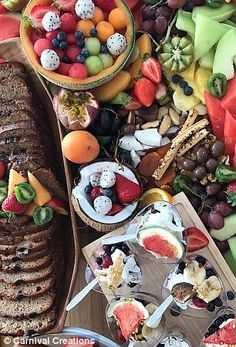 Perth events stylist reveals the secrets to a perfect platter - Food platters, Unique Wedding Food, Food Truck Wedding, Wedding Ideas, Food Platters, Cheese Platters, Diy Party Platters, Wedding Food Stations, Catering Food, Finger Foods