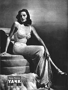 """Some women feel the best cure for a broken heart is a new beau.""  Gene Tierney    Talk about keepin in classy!"
