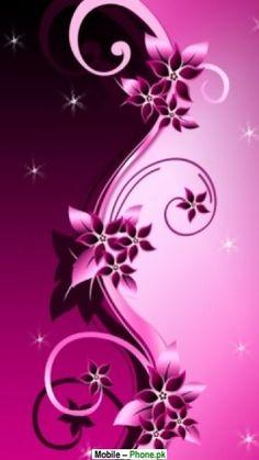 Pink flower backgrounds