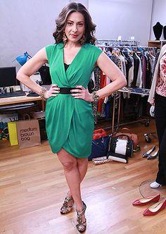 Green Dress by Catherine Malandrino #WNTW