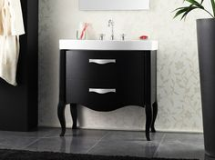 Lacquered vanity unit with drawers Zeus Collection by LA BOTTEGA DI MASTRO FIORE