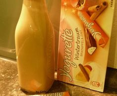 Rezept Wintertraum (Sahnelikör mit Bratapfel Yogurette) von Jagga - Rezept der Kategorie Getränke
