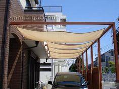 木製パーゴラ テラス屋根 タープ
