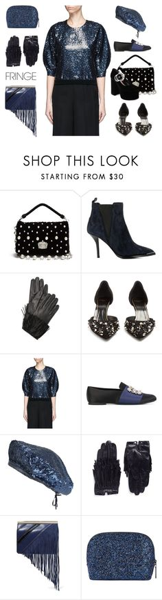 """""""Shimmy Shimmy: Fringe"""" by yours-styling-best-friend ❤ liked on Polyvore featuring Miu Miu, Acne Studios, Diane Von Furstenberg, Lanvin, Roger Vivier, Monsoon, Maison Fabre and Bobbi Brown Cosmetics"""
