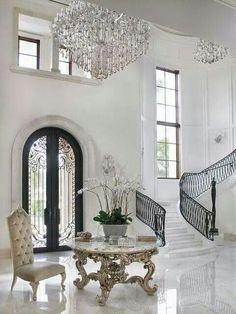 The Best of Home Interior and Exterior Design Classic Interior, Luxury Interior, Home Interior Design, Interior And Exterior, Mansion Interior, Luxury Furniture, Modern Interior, Apartment Interior, Modern Luxury