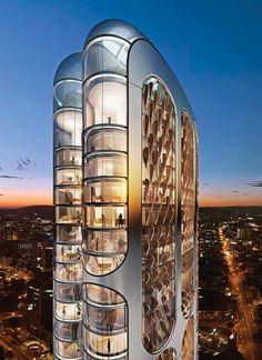 The Boomerang Parramatta, an 80-story proposed skyscraper in Sydney, Austrailia