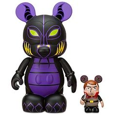 Vinylmation Animation 2 Series 9'' Figure -- Maleficent with 3'' Prince Phillip Figure