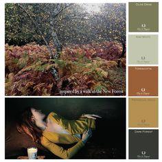 Colours that inspire me this winter! #pure& original #paints #astierdevillatte #winter