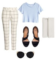 """""""Fancy-ish Outfit"""" by adrguerrero on Polyvore featuring H&M, Una-Home, Whistles, cute, outfit, fancy and aesthetics"""