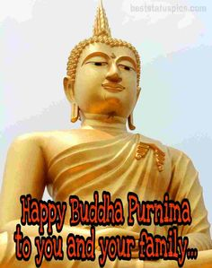 Happy Buddha Purnima to you and your family  IMAGES, GIF, ANIMATED GIF, WALLPAPER, STICKER FOR WHATSAPP & FACEBOOK