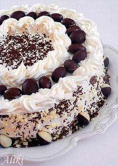 Frosting Recipes, Cake Recipes, Dessert Recipes, Desserts, Ice Cake, Torte Cake, Loaf Cake, Torte Recepti, Kolaci I Torte